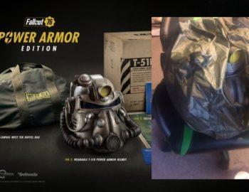 Bethesda wymieni torby z kolekcjonerki Fallout 76 Power Armour