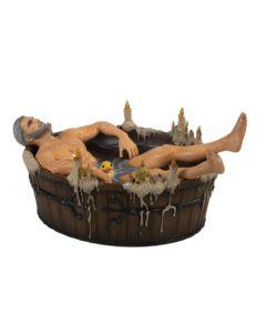 Figurka Geralt w wannie