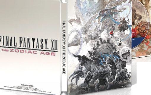 Final Fantasy XII The Zodiac Age Edycja Kolekcjonerska – Unboxing