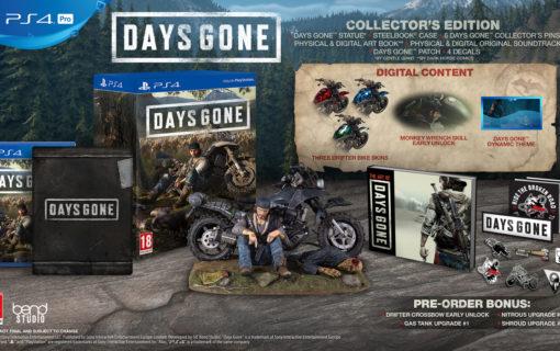 Sony ujawnia specjalne edycje Days Gone