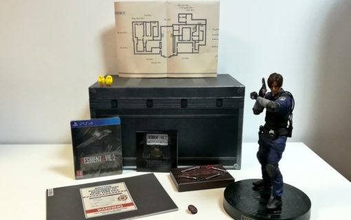 Zawartość kolekcjonerki Resident Evil 2 na zdjęciach od wydawcy