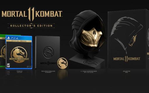 Mortal Kombat 11 Kollector's Edition z maską Scorpiona