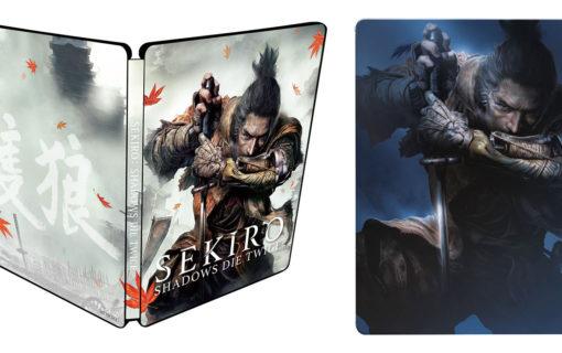 Dodatkowe Steelbooki z Sekiro: Shadows Die Twice
