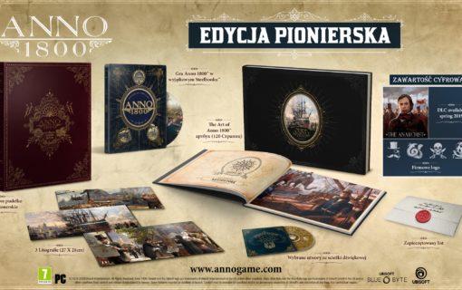 Edycja Pionierska Anno 1800 w polskiej dystrybucji