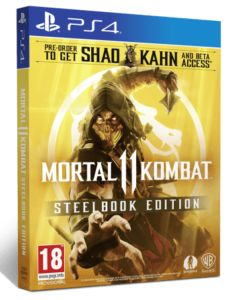 Mortal Kombat 11 Steelbook Edition