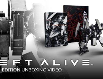 Left Alive Mech Edition na oficjalnym unboxingu