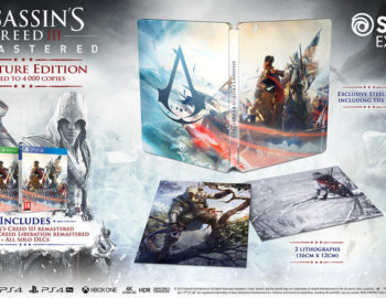 Steelbook w Assassin's Creed III Remastered Signature Edition