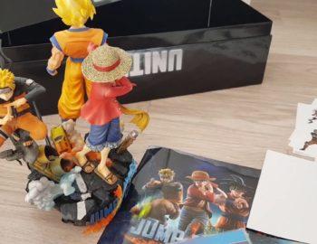Unboxing edycji kolekcjonerskiej Jump Force