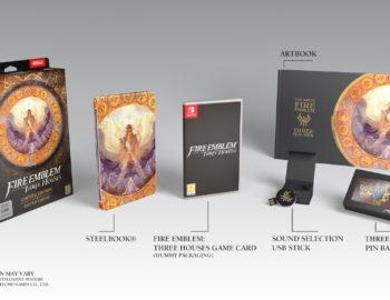 Nintendo zapowiedziało Fire Emblem Three Houses Limited Edition