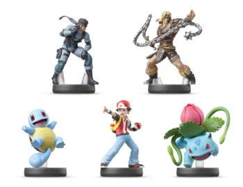 Poznaliśmy kolejne figurki amiibo z Super Smash Bros. Ken, Daisy i Young Link z datą premiery