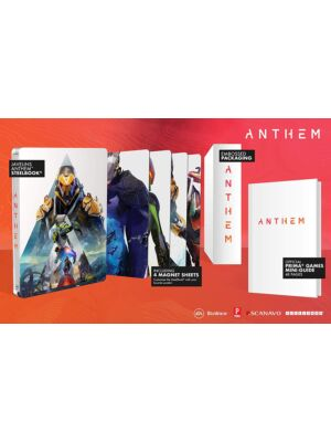 Anthem mini poradnik + Steelbook